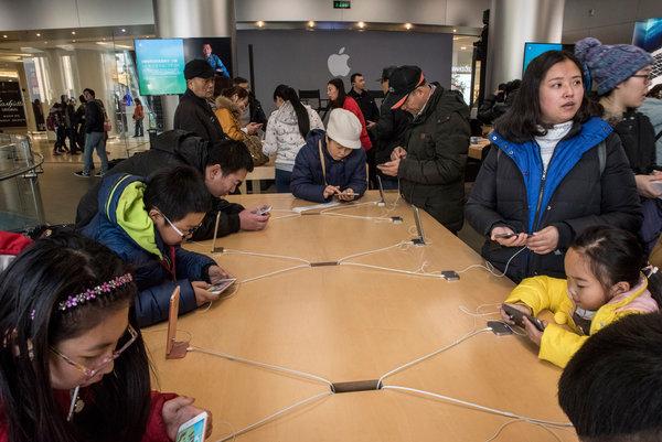 从富士康工厂到苹果店:一部iPhone的诞生(图)