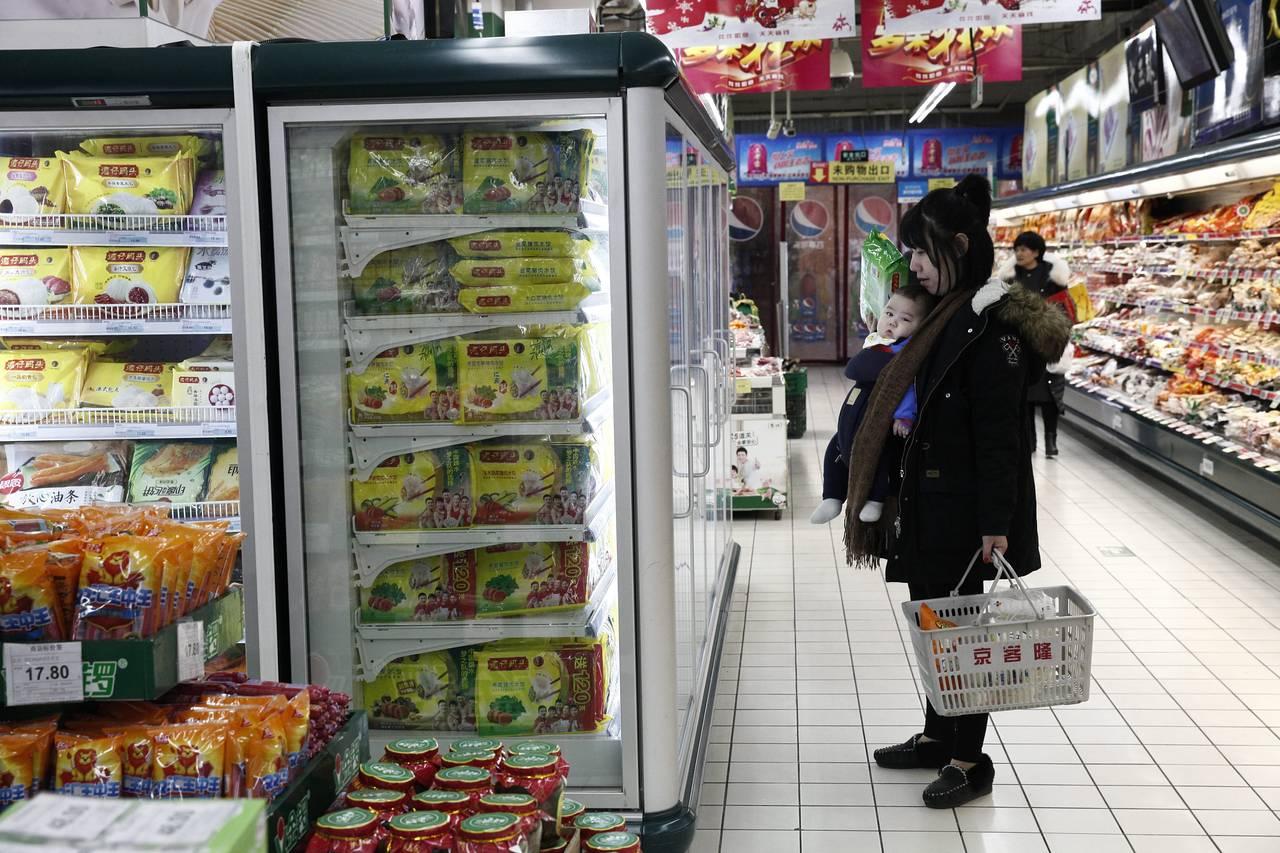 价格上涨 可能会促使中国央行保持谨慎立场(图)