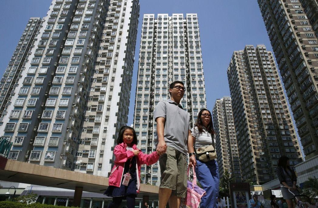 高房价、人口老化 香港20%的居民都是穷人(图)