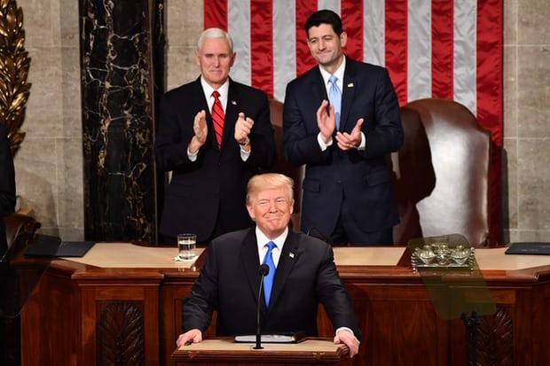 """特朗普国情咨文20个完整要点一览:""""美国将迎新时刻"""""""