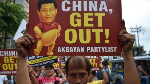 菲律宾民众有着一定的反中情绪。