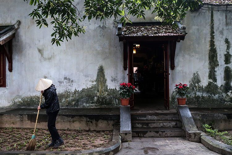 川普與金正恩會面成世界焦點 越南街頭風情幾何