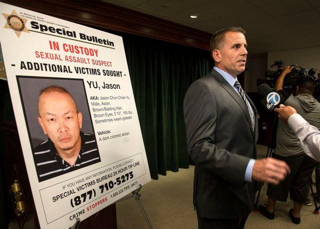 美国华裔男子诱拐性侵4名妇女,被判3个无期徒刑恐将老死狱中