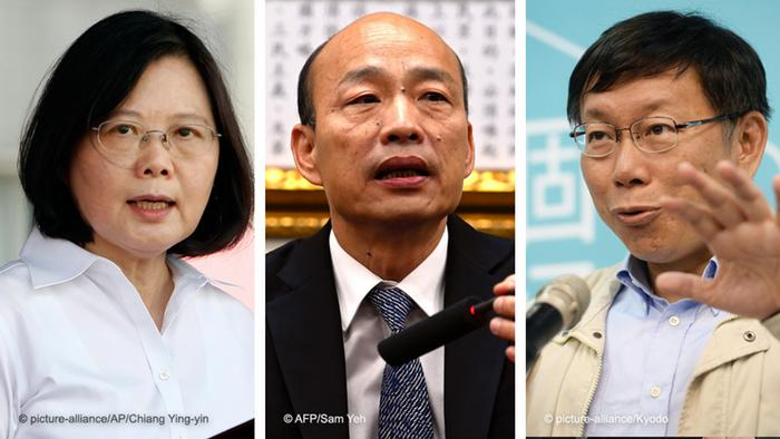 台湾大选逐渐定调:反统与统一的对决