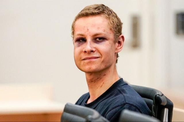 挪威枪案嫌犯一脸伤出庭!自拍袭击过程,被害17岁妹妹来自中国