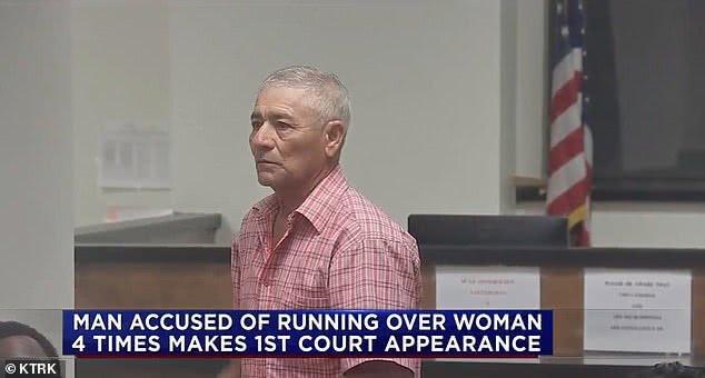 """""""我能听到骨折声"""",美国41岁女子被七旬男友开车碾压四次后幸存"""