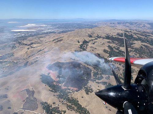跟加州有仇?密蘇裏州男子專程搭機去縱火燒森林(圖)