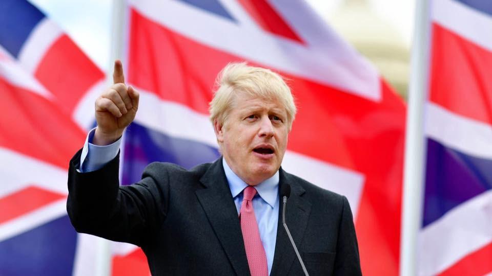 歐洲聯盟28日同意延後英國脫歐期限至明年1月31日。圖為英國首相強生。(圖取自facebook.com/borisjohnson)