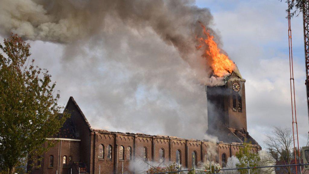 巴黎聖母院悲劇重演!又一百年遺址被毀(圖)
