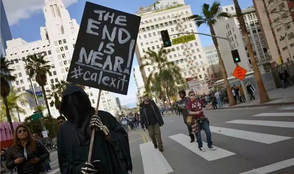 加州要脱美?加利福尼亚州计划明年公投脱离美国,以此抗议特朗普
