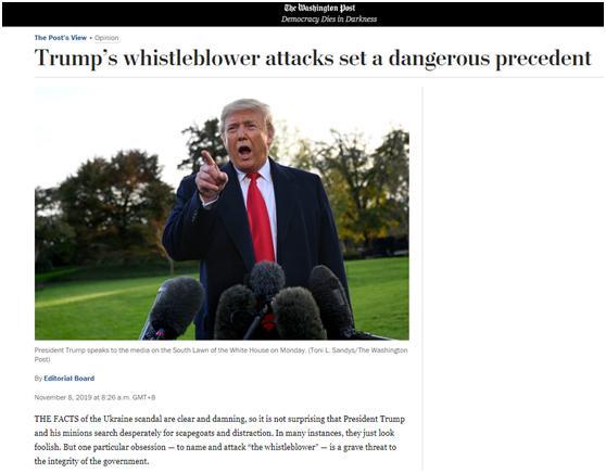 """疑似""""舉報者""""被特朗普兒子公開 引發巨大爭議"""
