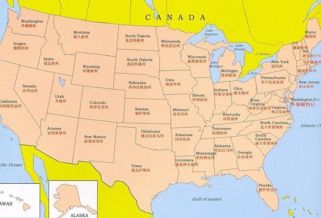 美國遭遇割地危機,每過一小時就有一塊領土失蹤,禍首是大西洋