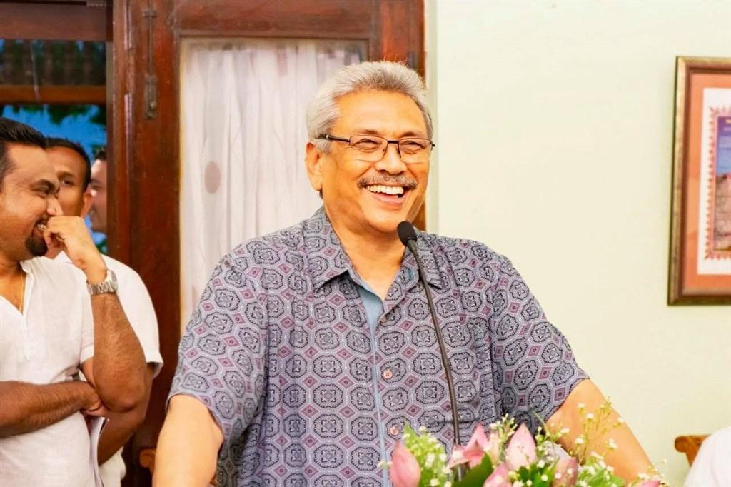 被認為立場親中的斯裏蘭卡新任總統戈塔巴耶.拉賈帕克薩說,斯裏蘭卡將成為中立國家,與印度等所有國家合作。(圖取自facebook.com/gotabayar)