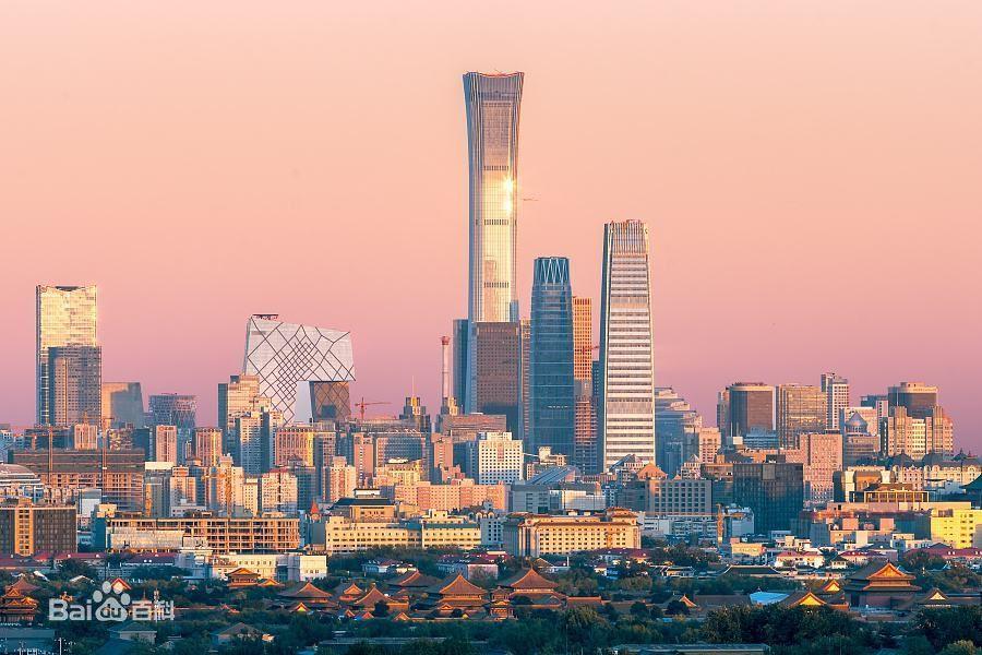 """北京最高樓啟用:定於—""""尊"""" 頂天立地之勢(組圖)"""