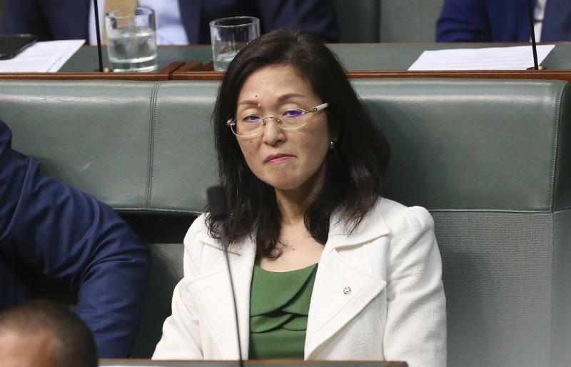 澳洲首位華裔議員廖嬋娥9月被媒體踢爆曾任中共海外統戰部門要職,現捲入共諜案。(美聯社檔案照)