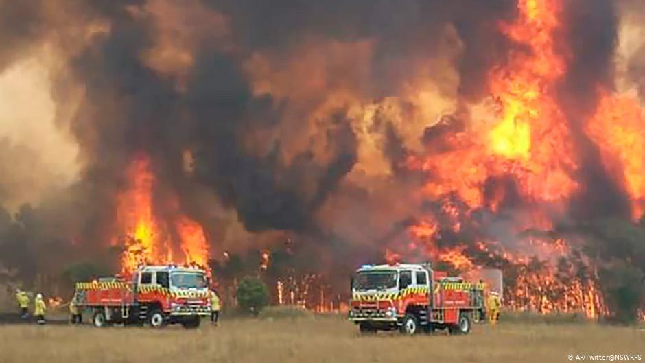 Australien Tote und Vermisste bei verheerenden Buschbränden