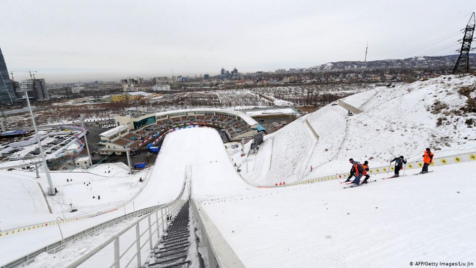 Bildergalerie Winterolympiade Peking Almaty