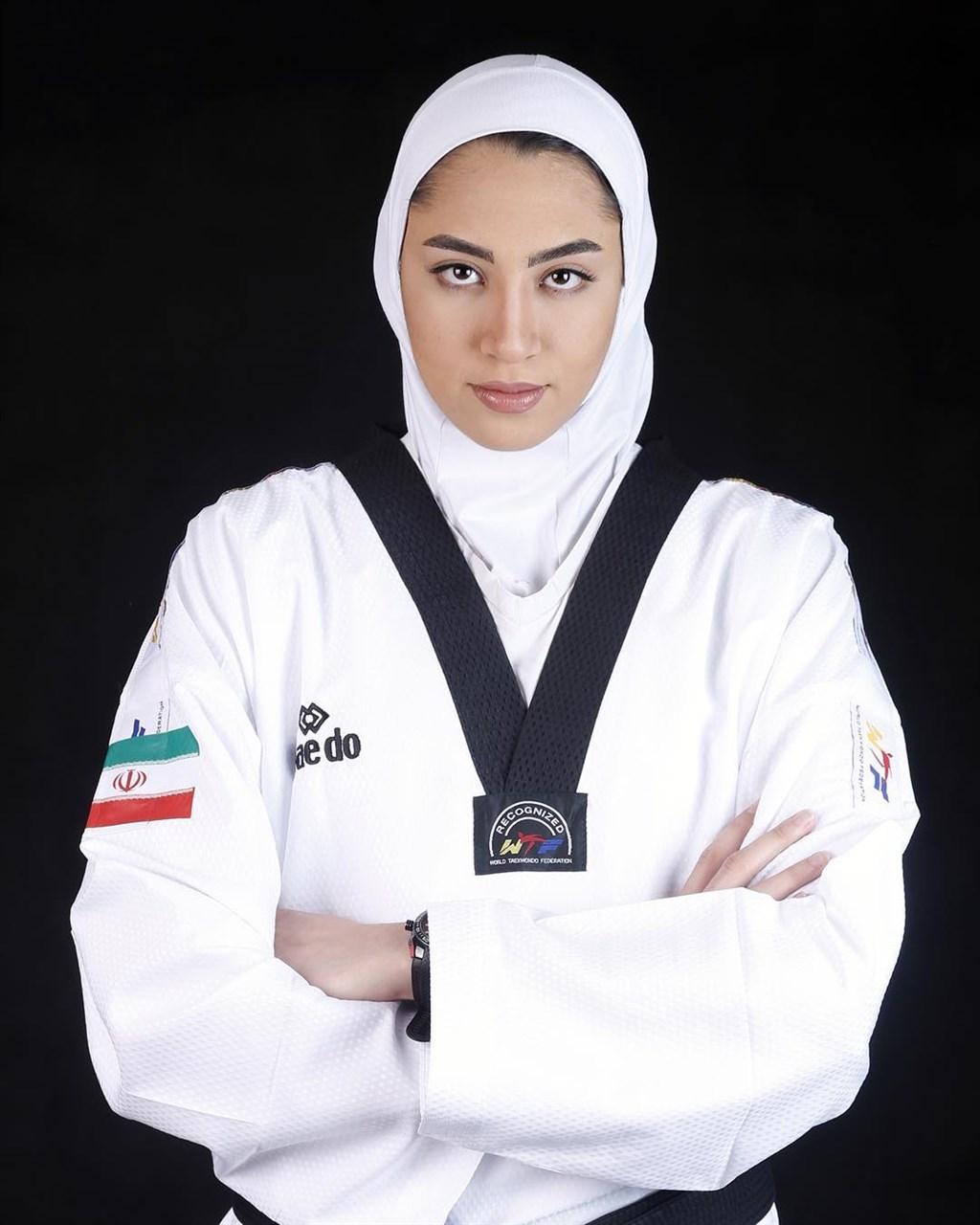 伊朗唯一在奧運奪牌的女運動員阿裏薩德宣布永久離開祖國。(圖取自阿裏薩德IG網頁instagram.com/kimiya.alizade)