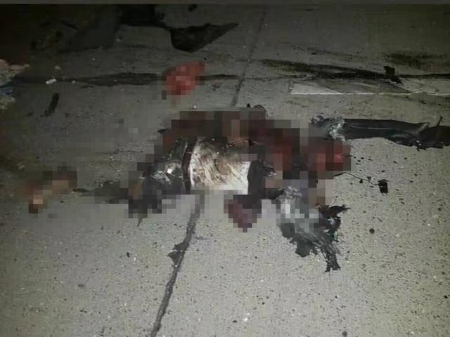 美國導彈有多恐怖:飛刀攪碎你 伊朗將軍隻剩軀幹!