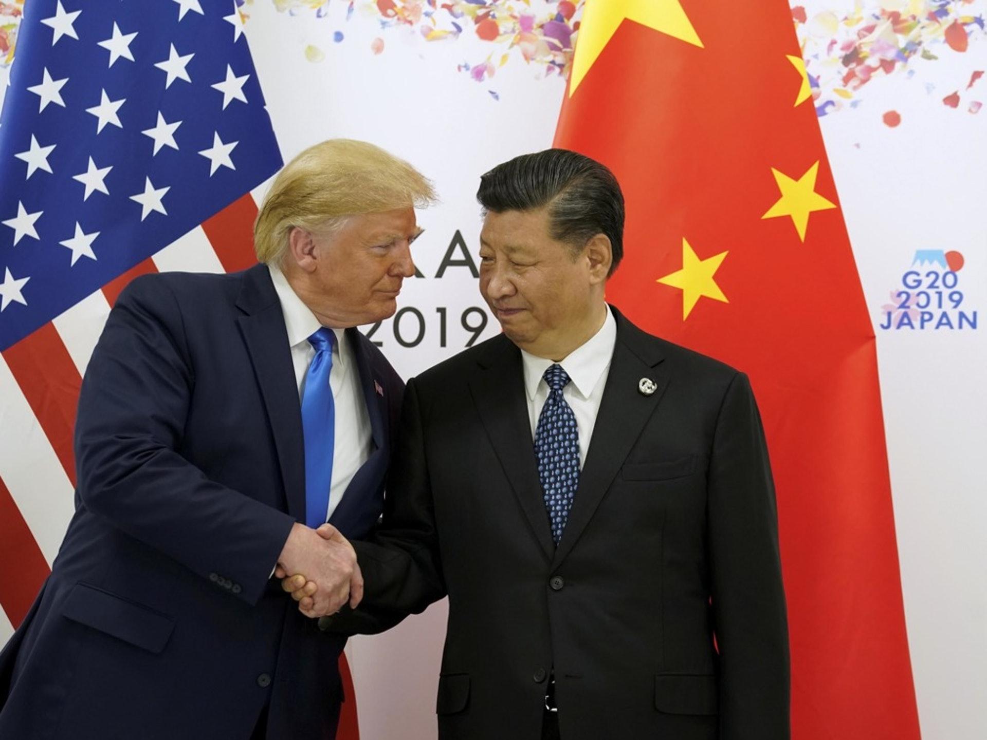 特朗普為突出協議的重要性,此前甚至還多次表示,要和中國國家主席習近平一起簽署第一階段的協議。(Reuters)