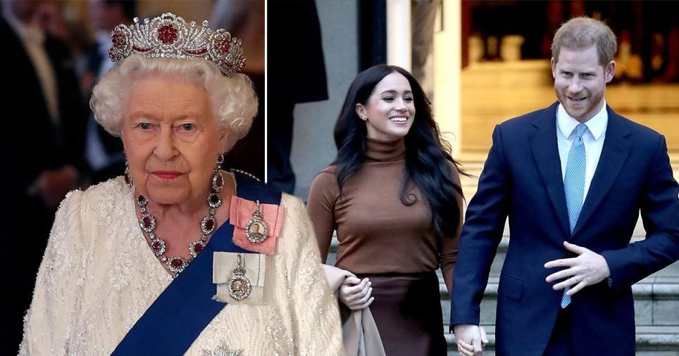 英國女王發聲明:支持哈裏和梅根