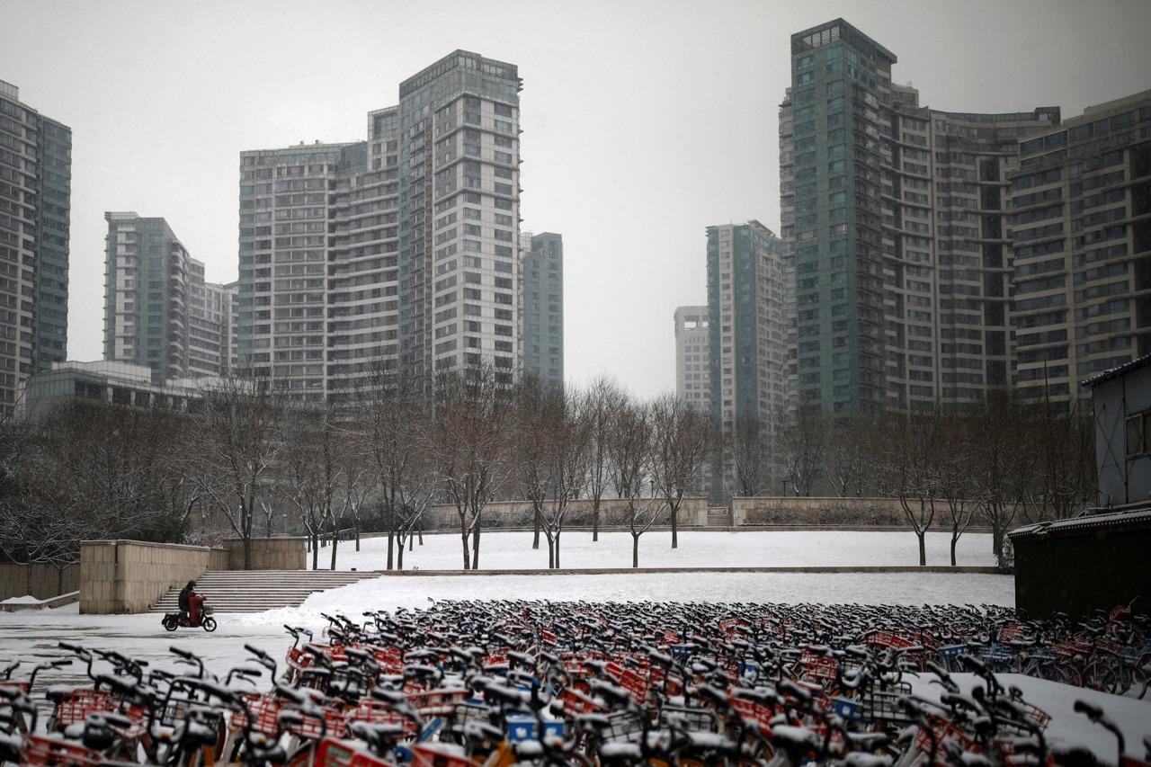 """实拍:疫情下中国多数城市成为""""鬼城""""(高清组图)"""