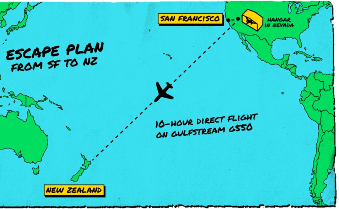 疫情之下,美國富豪們踏上新西蘭末日求生之路