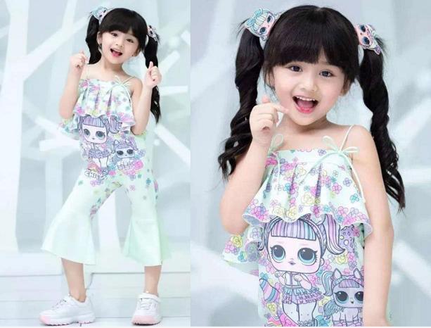 美国小女孩4岁当超模!长大后眼神呆滞,杭州挨打童模该何去何从