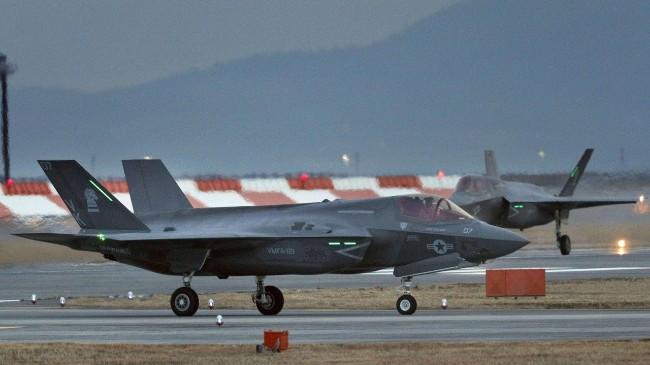 可疑:美国F35-A在空军基地坠毁 5天内第二宗