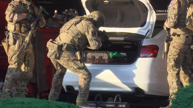 美FBI出動大批警力 突襲逮捕 24 歲華裔退伍兵