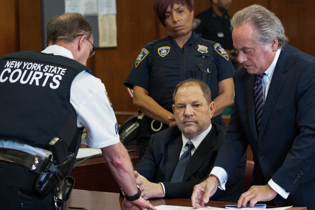 2018年,好萊塢製片人哈維·韋恩斯坦因性侵指控在曼哈頓刑事法庭受審。