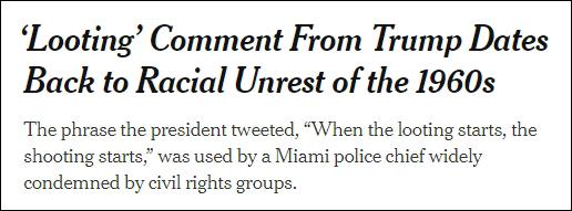 特朗普凌晨一句话冲上热搜 这话可有背景了