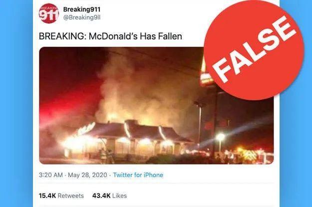 全都是谣言!这些美国游行热搜消息都是假的!别信