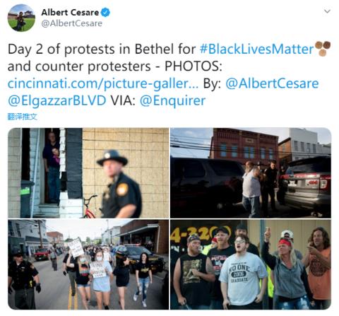 80人示威反歧视却遭近千名武装摩托帮围堵!美国民意发生变化