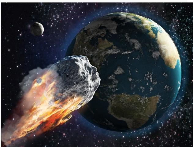 比子弹快14倍!NASA:比大笨钟大3倍的小行星正飞来