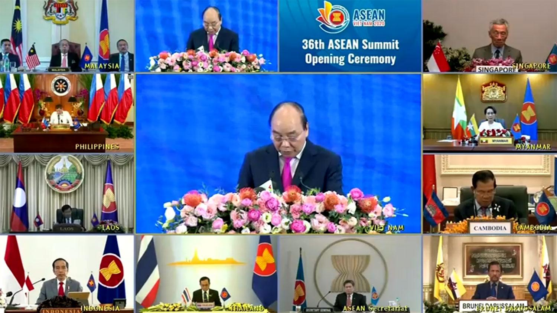 東盟十國開大會 罕見發表一致聲明懟中國