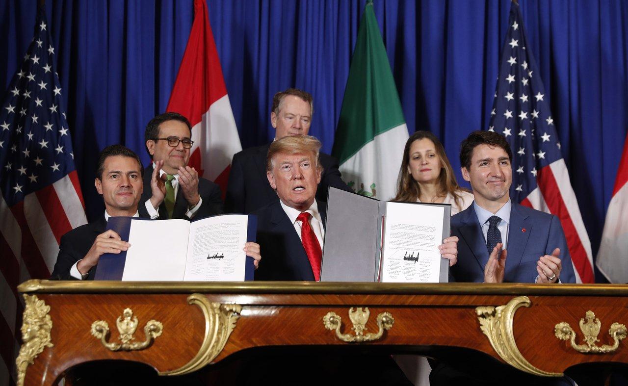 新版美加墨北美自贸协定,一边吵一边上路了!