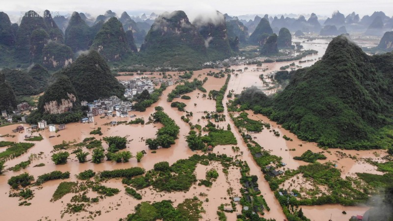 上海危险了!暴雨灾情扩大 25条河超警洪水