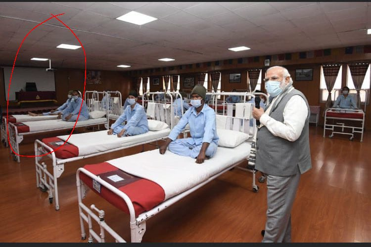 """莫迪在中印边境视察的是假医院?被批""""天生的骗子"""""""