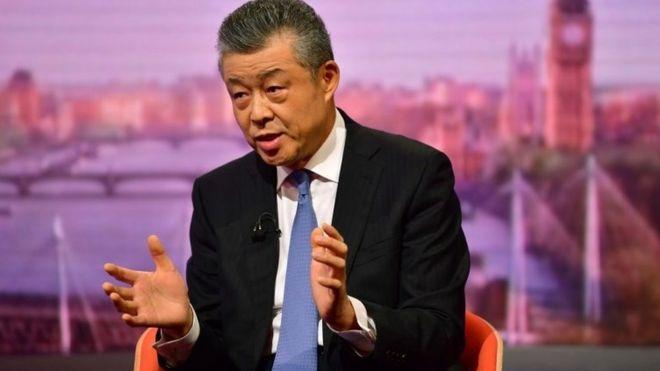 """中驻英大使警告:禁华为 敌视中国要""""承担后果"""""""
