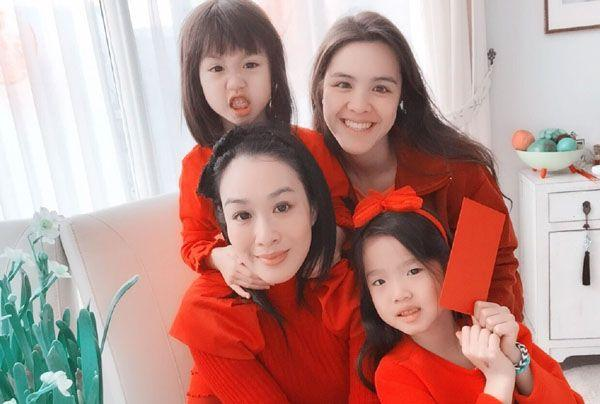 先看看林青霞的三个女儿,再看看钟丽缇的三个女儿,差距一目了然