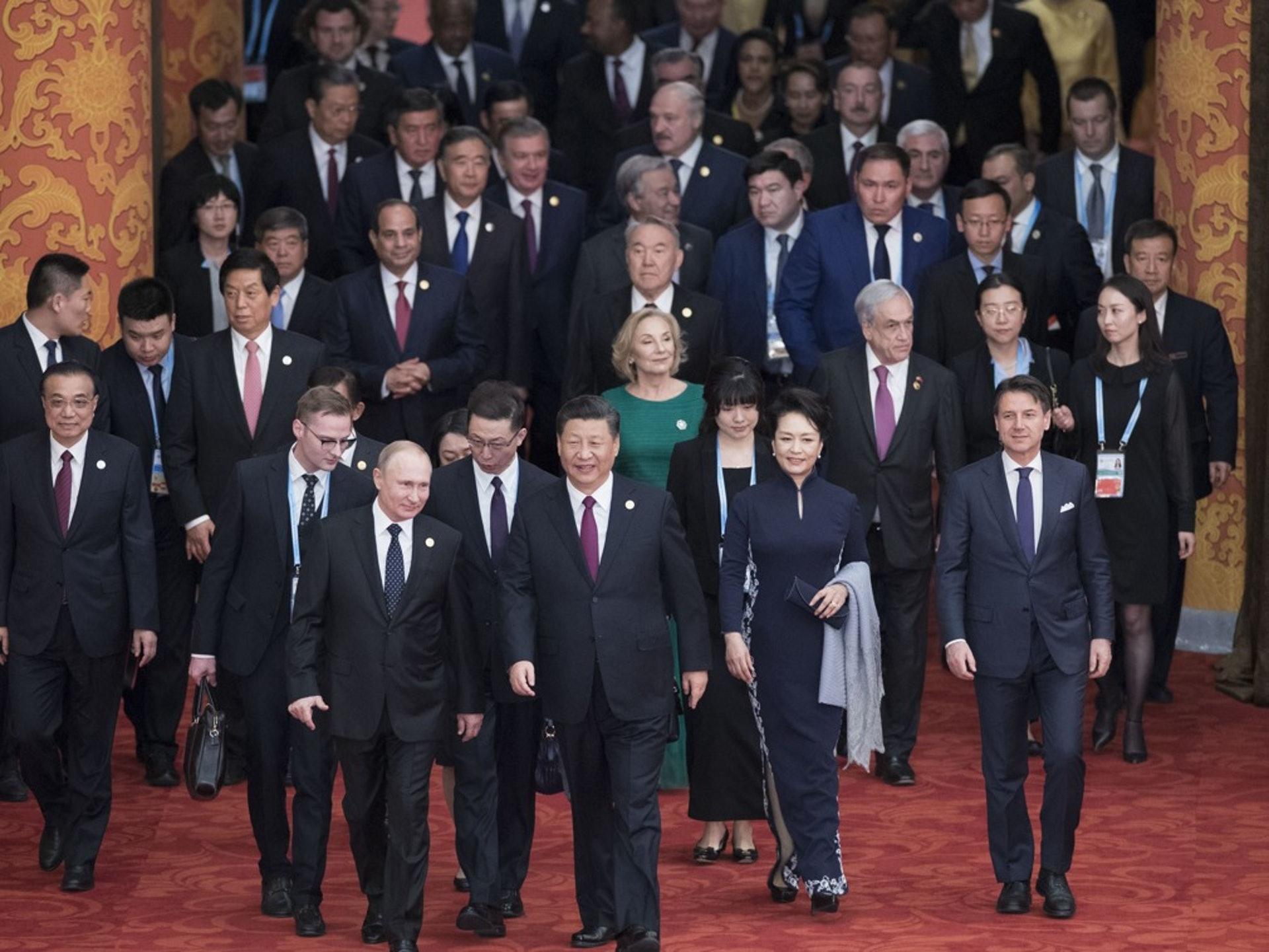 一带一路为中国带来巨大风险