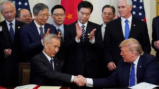 川普宣布取消新一轮中美经贸谈判 北京七字回应
