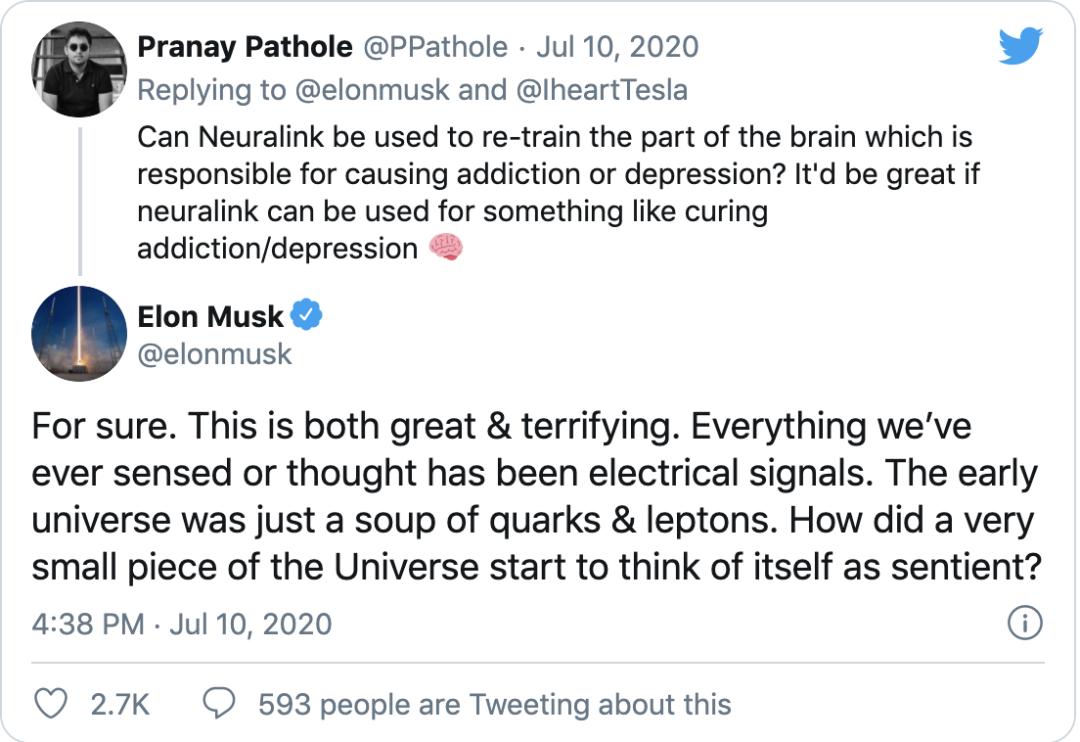 马斯克震撼发布脑机接口,人类离数字永生不远了?