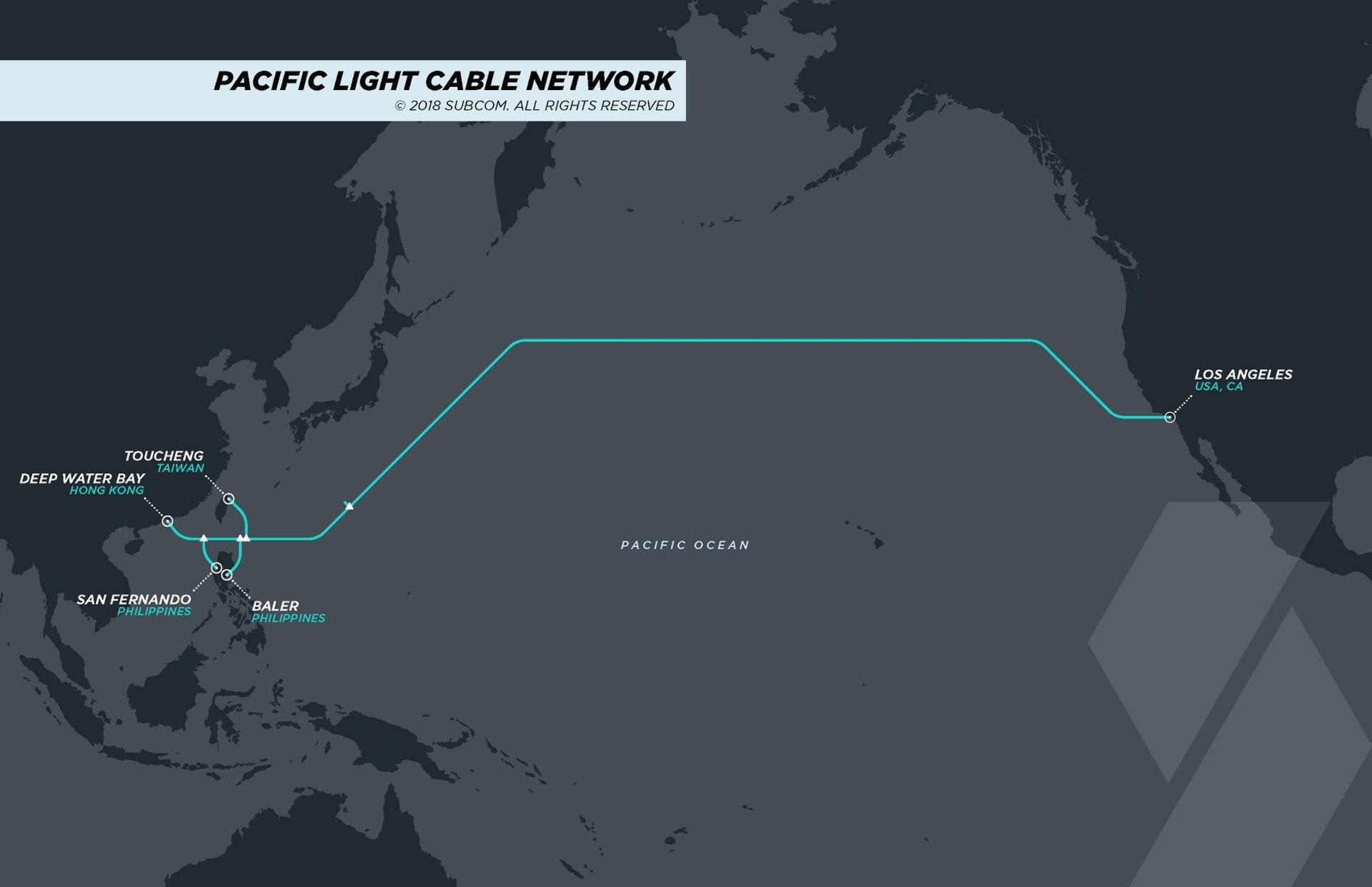 谷歌与脸书海底电缆计划交新建议 确认放弃连香港