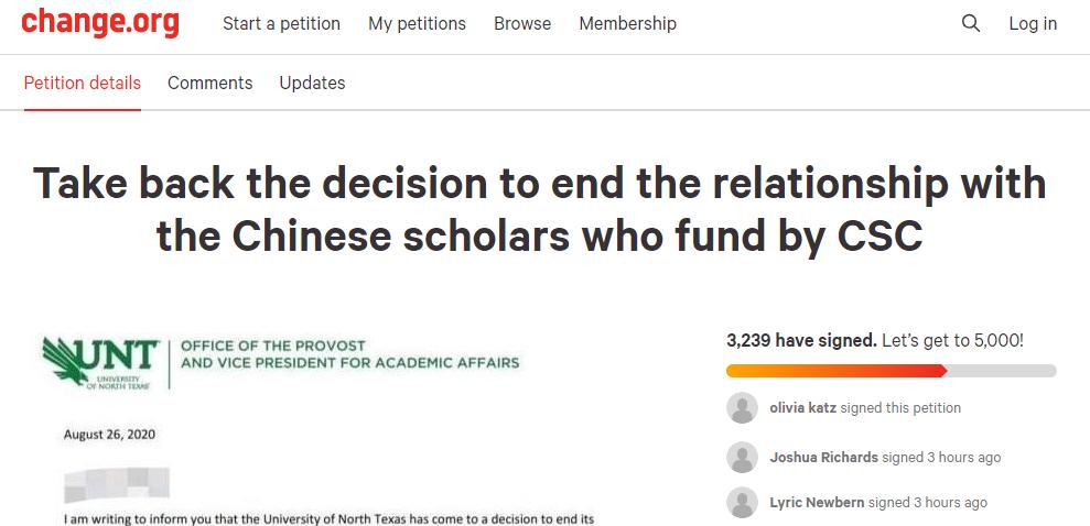 美国一大学突然驱逐所有中国公派留学生,限1月内离境