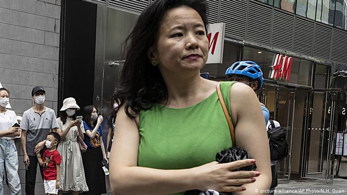 Australien Cheng Lei Journalistin (picture-alliance/AP Photo/N.H. Guan)