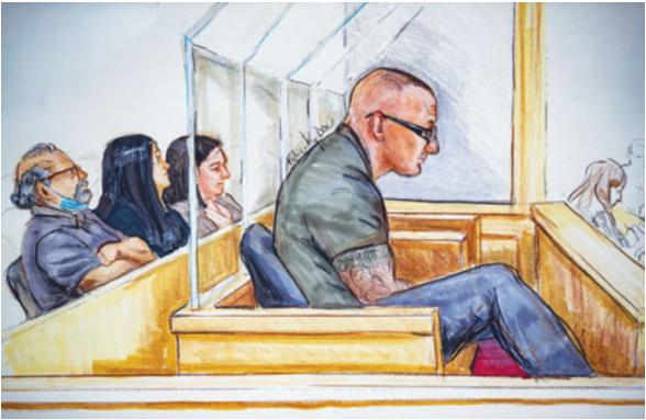 素里六尸命案 红蝎帮首被判18年