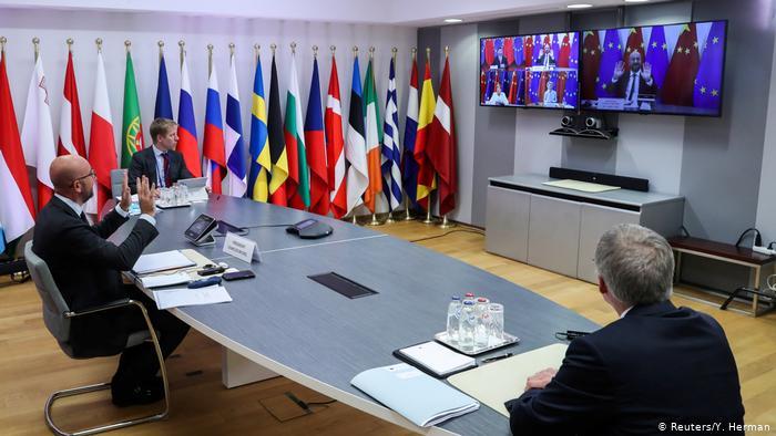"""中欧峰会难题多 习近平讲话:中欧要做到""""4个坚持"""""""