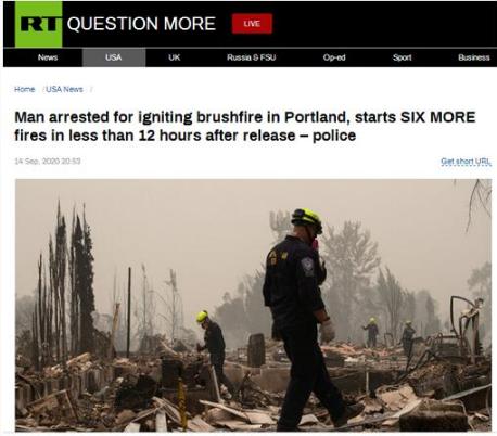 嫌不够乱?男子因纵火被捕 获释后12小时内又纵火